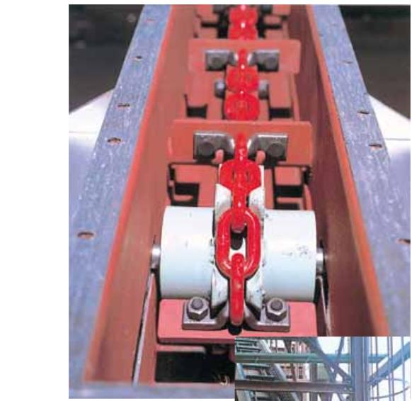 Dây xích (Tải trọng 75 tấn) Kondotec Nhật Bản loại dùng trên băng tải