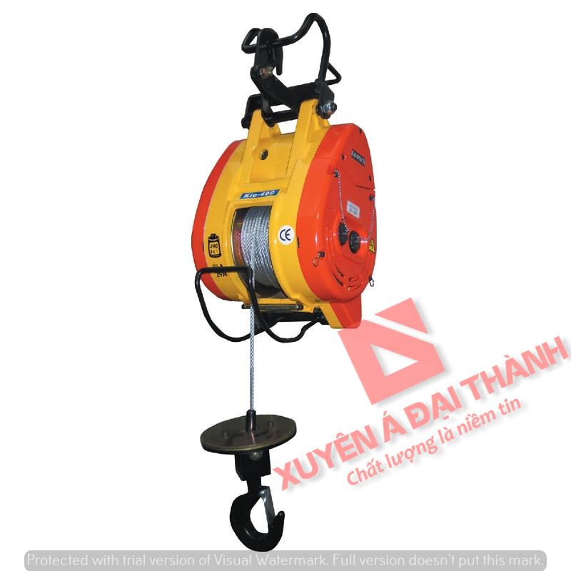 Tời treo mini 360kg Đài Loan KIO Winch KIO-360