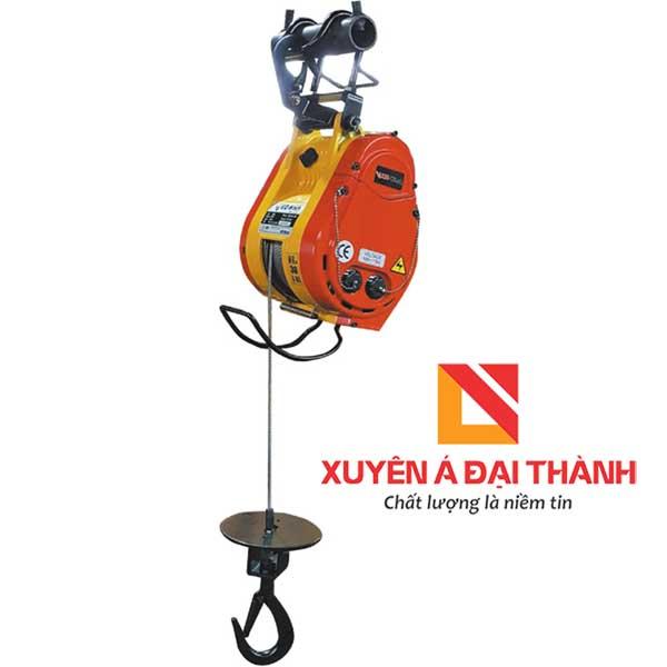 Tời điện treo mini 300kg KIO Winch Đài Loan- SRT-300