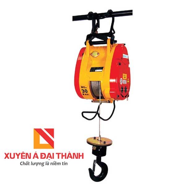 Tời treo mini 300 kg Đài Loan KIO WINCH KIOS-300 chính hãng